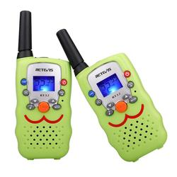 Easter Day Gift 2pcs Retevis RT32 Mini Walkie Talkie Handy PMR446 Two-Way Radio Portable Radio Transceiver Birthday Gift Toy