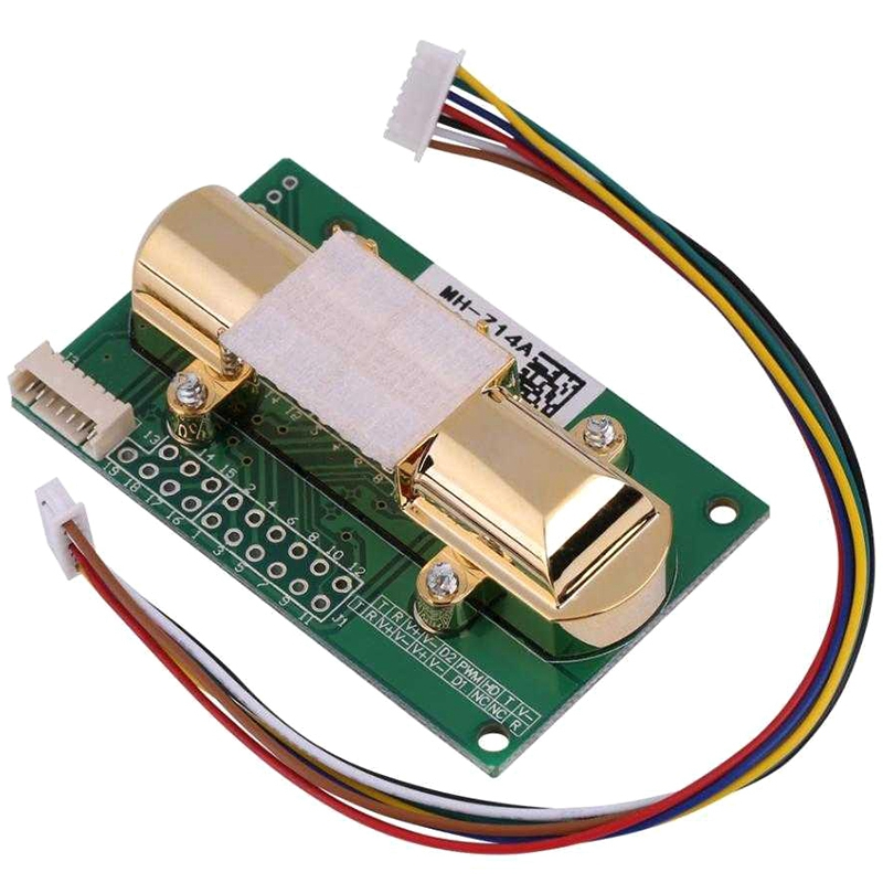 NDIR CO2 SENSOR MH Z14A Infrared Carbon Dioxide Sensor Module Serial Port  PWM  Analog Output with Cable MH Z14|Sensor & Detector| |  - title=