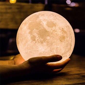 3d Λάμπα Σεληνιακό φως