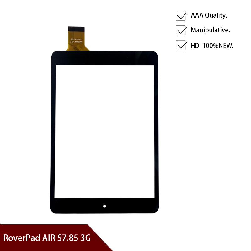 Orignal NEW 7.85'' RoverPad AIR S7.85 3G, Sky 7.85 (TB7831S) Tablet Pc Digitizer Touch Screen Glass Sensor Free Shipping