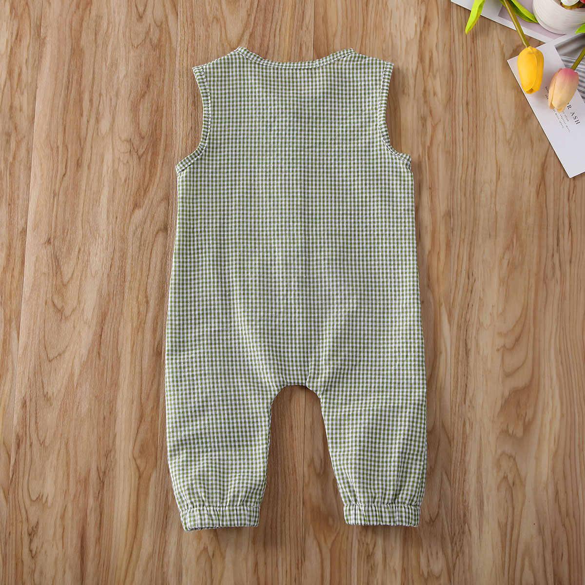 2020 ropa de verano para bebés recién nacidos, ropa para bebés, sin mangas, mono, mono, trajes casuales en general