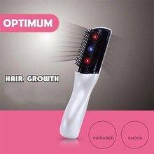 Электрическая инфракрасная лазерная расческа для роста волос