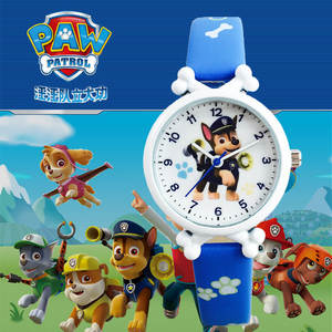 Digital Watch Toy Figure-Time Develop Gift Paw Patrol Dog-Patrulla Learn Everest-Action