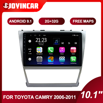 10.1inch Android 9.1 Car Radio For Toyota Camry 40 2006-2011 2din Car Multimedia Video Player Navigation GPS Autoradio DVD image