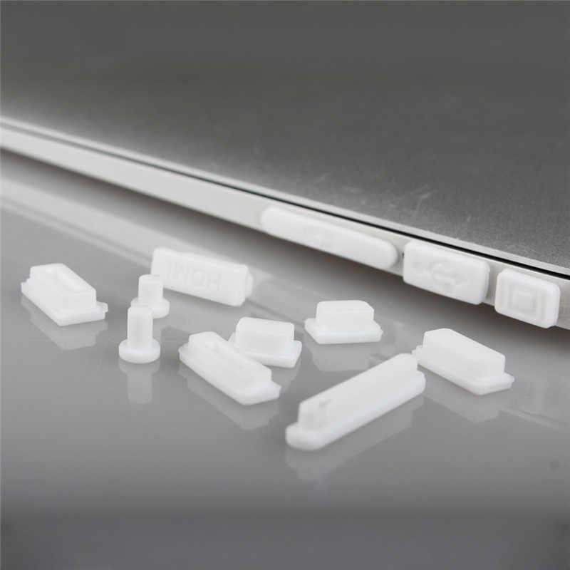 Siliconen Anti-stof Pluggen Voor Apple Macbook Pro 13 15 Retina/Air 11 13 A1502 A1466 A1398 A1465 a1425 Mac Boek Poorten Stof Plug