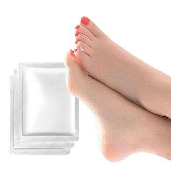 8 pcs = 4 saco/lote Super esfoliantes meias máscara pé para meias Pedicure Sosu Peeling para cuidados com os pés beleza máscara pé do bebê