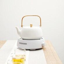 Мини-печь для замачивания рисового чая, электромагнитная печь, чугунная печь для приготовления чая, бесшумная электрическая керамическая печь