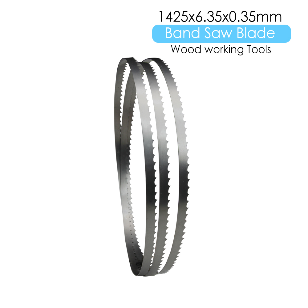 1 Piece 1425 X 6.35 X 0.35mm Band Saw Bandsaw Blades Woodworking Tools For Wood Cutting TPI 6 10 14