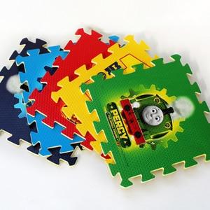 Image 2 - Thomas alfombrilla para gatear para niños, decoración de suelo para habitación infantil, protección de seguridad y medio ambiente