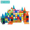 KEYAMI Magnetic Big Size Model Building Magnet Blocks Designer Educational Toys Children Gifts Color window blocks Magnetic toy