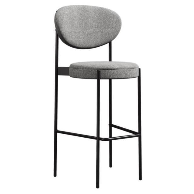 Nordic Designer Bar Chair Household High  Fashion Creative Front Desk Modern Simple Back