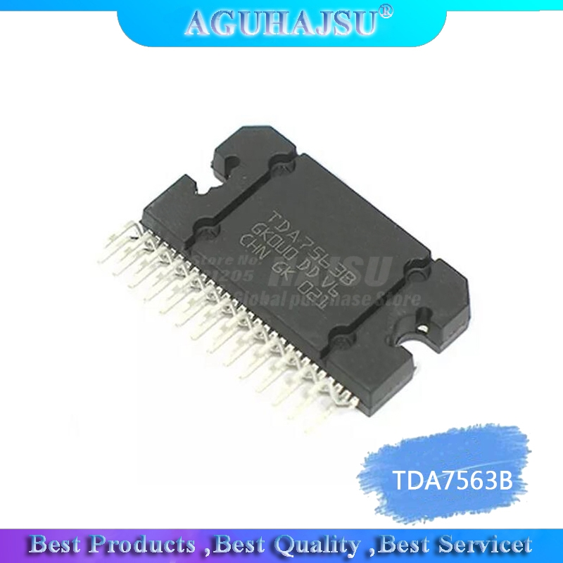 1pcs/lot TDA7563B TDA7563 7563 AMP QUAD MULTIFUNC FLEXIWATT2 IC Best Quality