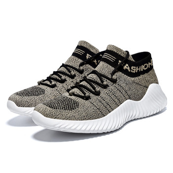 Men Fashion Sneakers Soft Knitting Sock Sneaker Men Breathable Sports Shoes Outdoor Casual Flats Man Footware Running Sneakers