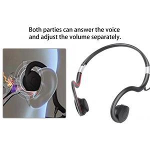 Image 3 - السمع 5V500mAh شحن سماعات توصيل العظام الصوت مكبرات الصوت السمع BN 802 كابل يو اس بي الأسود الساخن