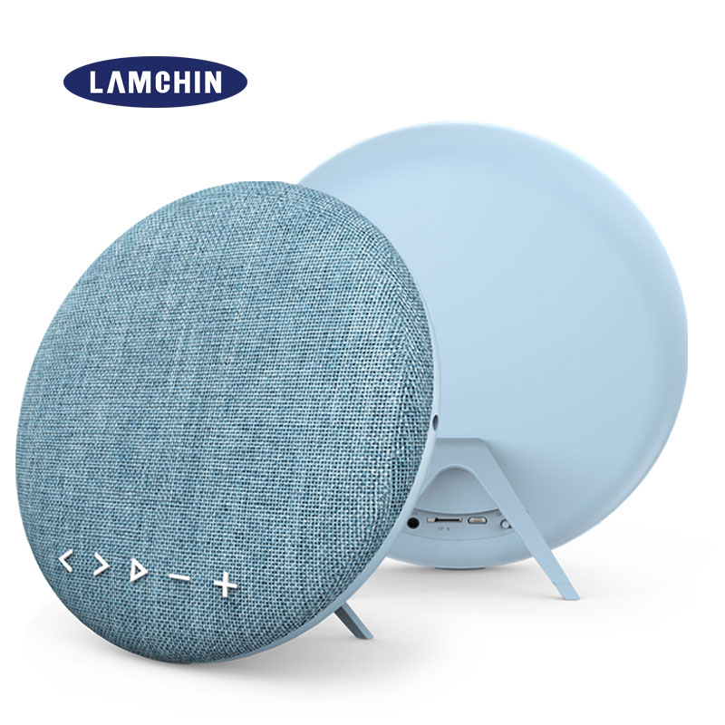 Stéréo Super basse Bluetooth haut-parleur Portable en plein air Muisc colonne barre de son 12W couverture en tissu FM TF carte intégrée dans le micro main libre