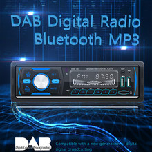 1 Din araba radyo Stereo DAB + Autoradio 1din Bluetooth Handsfree multimedya oynatıcı otomatik Coche radyo ses MP3 FM AM RDS USB AUX(China)