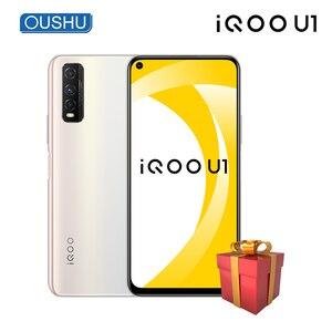 Новинка 2020, vivo IQOO U1, мобильный телефон, 4500 мАч, аккумулятор 18 Вт, Dash Charge, 6 ГБ, 64 ГБ, 6,53 дюйма, ЖК-экран, 48 МП, Android, телефон, лицо, ID