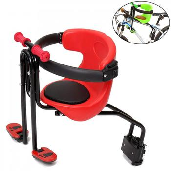 цена на Mountain Boad Bike Child Safety Seat Child Bicycle Front Chair Suitable for 0-4 Years Old Baby Bicycle Saddles