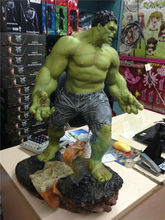 Marvel Large Super Giant Hulk Action Figure Model 1/4 Scale Toys Collection Marvel Giant Hulk Figure Statue Toy 25''