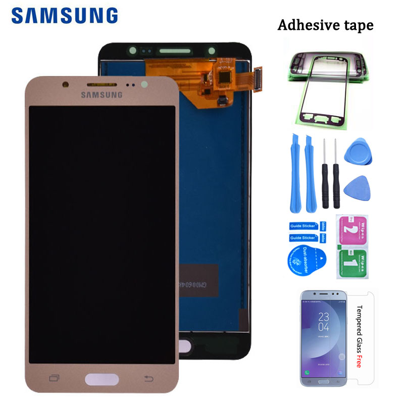 For <font><b>Samsung</b></font> Galaxy J5 2016 <font><b>J510</b></font> J510FN J510F J510G J510Y J510M <font><b>LCD</b></font> Display with Touch Screen Digitizer Assembly free shipping image