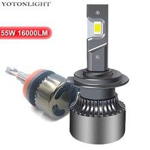2 Pcs Led H11 H4 Led Headlight Kit Led H7 9006 H1 H3 Bulb 9005 hb3 hb4 55W 16000lm H8 H9 d2s 9012 Hir2 6000k 12V r4 car led headlight kit h1 h3 h7 h8 h9 h11 9005 h10 hb3 9006 hb4 9012 hir2 880 881 d1s d2s d3s d4s auto bulb lamp