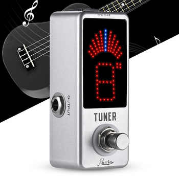 Rowin High Precision Guitar Chromatic Tuner Pedal Ture Bypass - DISCOUNT ITEM  23% OFF All Category