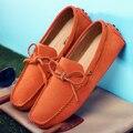 Роскошная брендовая мужская обувь; лоферы из натуральной кожи без застежки; Мужская обувь для вождения; Мягкие Мокасины; Мужская дышащая об...