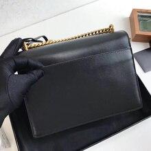 Luxury sunset bag real leather handbags designer purse women