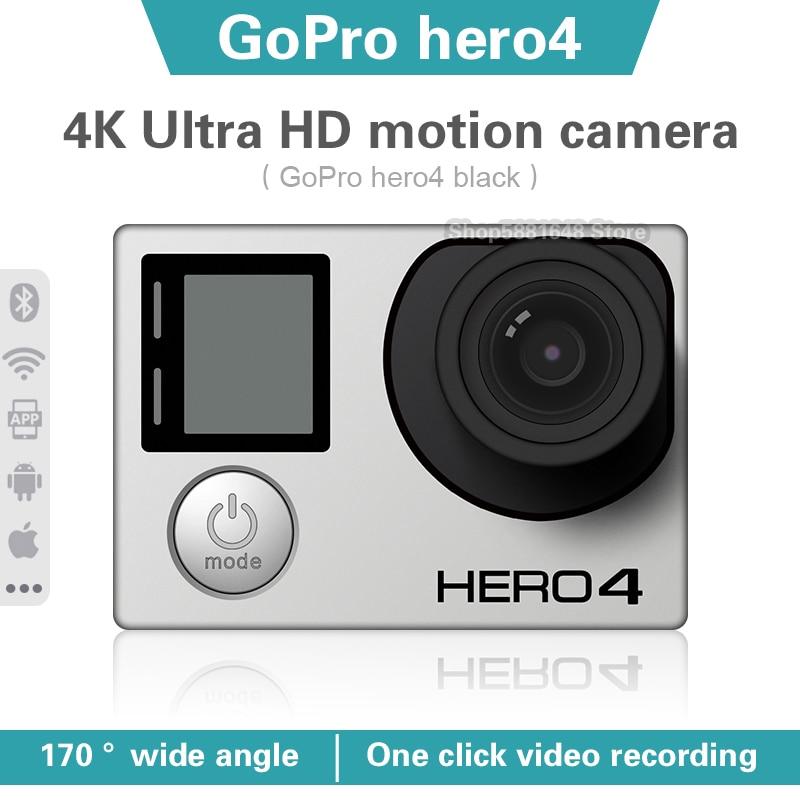 Водонепроницаемая экшн-Камера Gopro hero 4 black 4k30 Ultra HD, 12 МП