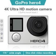 Sports Camera Gopro Hero Black Waterproof Outdoor Ultra Hd 4 4k30-Frames 12-Megapixel