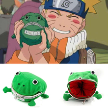 Anime Naruto Frog wallet Cosplay Props Accessories Uzumaki Naruto Cartoon Purse