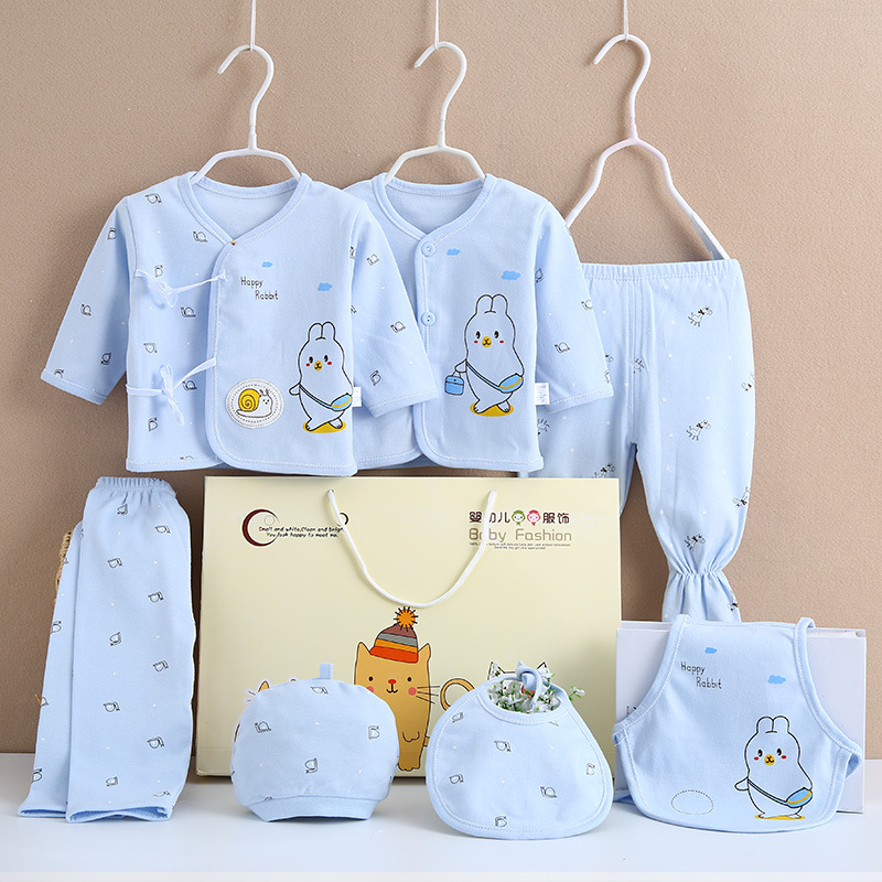 Autumn Newborns Gift Set Clothes For Babies Pure Cotton Supplies Newborn BABY'S FIRST Month Gift Baby Encyclopaedia