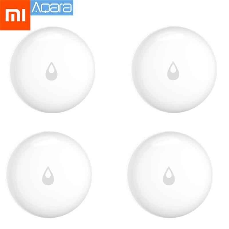 Original Xiaomi Mijia Aqara Inundação Sensor De Imersão de Água Detector de Vazamento de Água para Casa de Segurança Alarme Remoto Sensor de Imersão