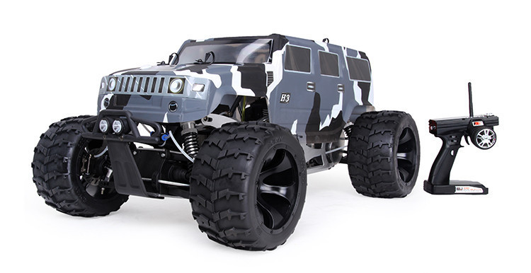 1/5 Scale Racing BM305 Monster Truck 4WD Whit 30.5cc Engine Rc Car