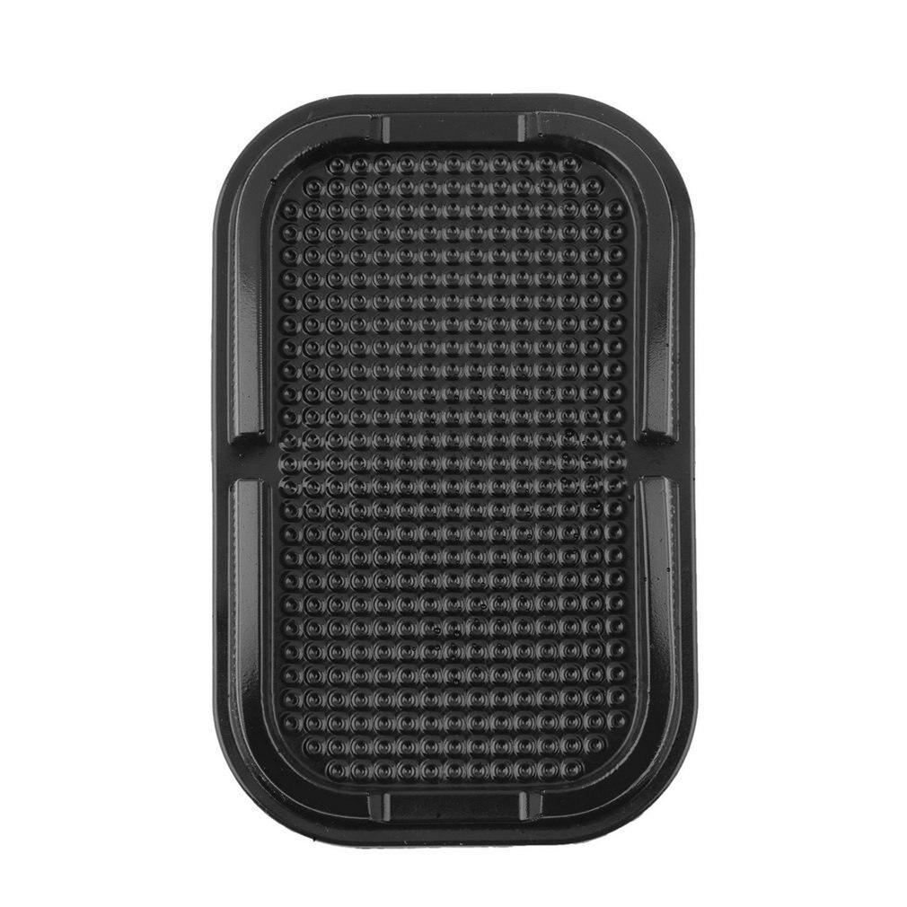 Car Dashboard Sticky Pad Mat Reusable Car Mobile Phone Mount Non Slip Gadget Mobile Phone Gps Holder 1 Piece Black LESHP