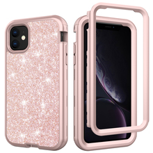 Phone Cover For iPhones 11pro Back Coque Pink Black Purple G