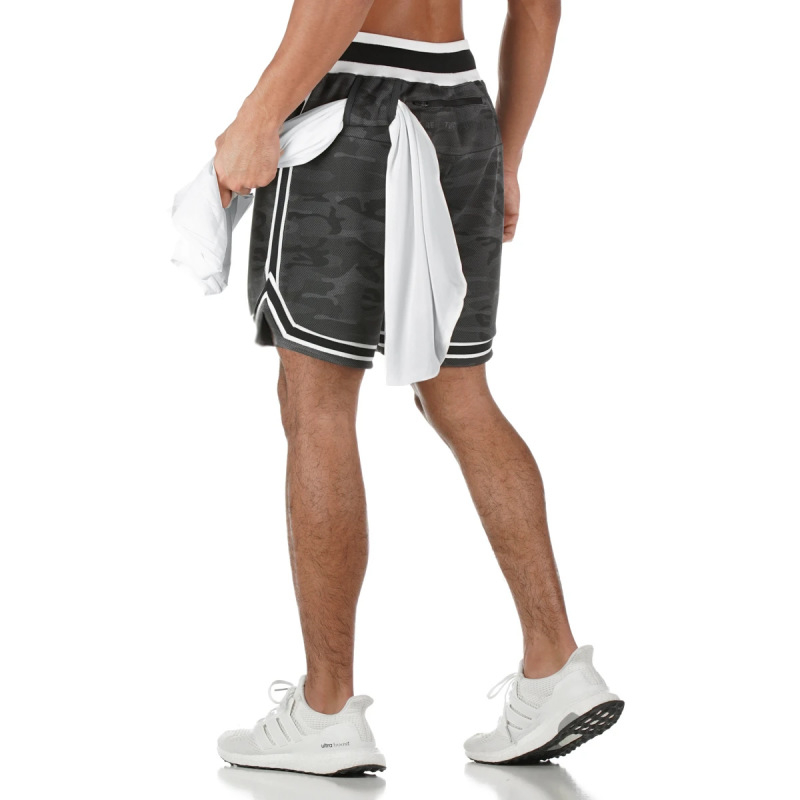 New Jogging Shorts Summer Men's Brand Fitness Training Quick-drying Breathable Sports Shorts Men