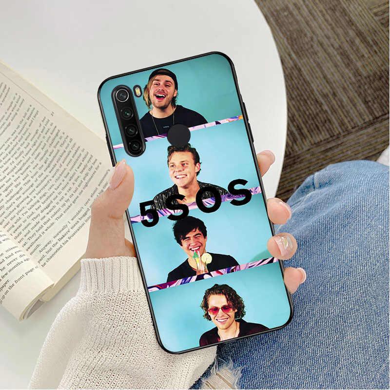 5Sos bant YOUNGBLOOD 5 saniye yaz lüks benzersiz tasarım telefon kapağı için redmi note 4 5 6 7 5a 8 8pro kılıf