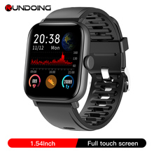 RUNDOING NY16 מלא מגע מסך smart watch עם אלומיניום סגסוגת מקרה IP68 עמיד למים smartwatch עבור אנדרואיד ו ios