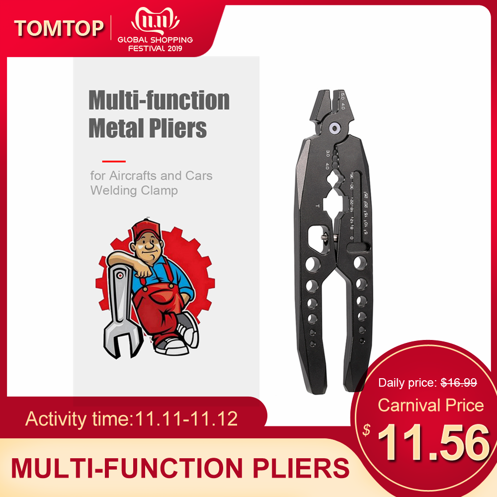 Metal Clamp Multi-function Shock Absorber Pliers Ball Head Pliers Clip RC Car Tools Pliers For Traxxas HSP Car