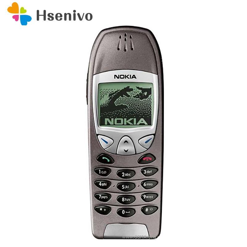 6210 Original Unlocked Nokia 6210 Mobile Cell Phone 2G GSM 900/1800 Unlocked Cellphone Free shipping