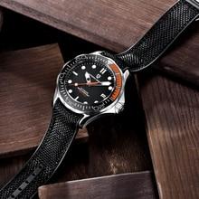 2020 Nieuwe Pagani Ontwerp 007 Serie Mannen Mechanische Horloges Automatische Horloge Mannen NH35A Saffier Spiegel 100M Waterdichte Klok man