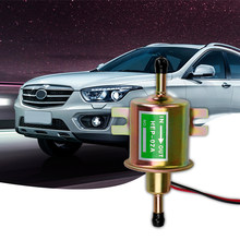 12V Electric Petrol Pump Low Pressure For Car Carburetor Motorcycle ATV HEP-02A Fuel Pump Bolt Fixing Wire Diesel(China)
