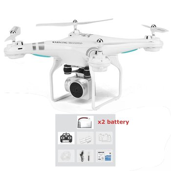 цена SH5HD FPV Drone with 1080P WIFI Camera Drone Live Video Altitude 2.4GHz 4 Channels 6 Axis Gyro RC Helicopter with 2/3 Batteries онлайн в 2017 году