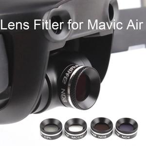 Image 2 - Drone Lens filters kit for DJI MAVIC AIR Drone Camera Lens Filter Circular Polarizer Neutral Density UV CPL ND4 ND8 ND16 parts