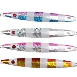 Przynęta na ryby wielokrotnego użytku ołów szybki zlew świecący w nocy Jig przynęta Jigging Ocean Boat Fishing Accessories