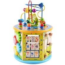 Монтессори Раннее детство обучающие игрушки деревянный подарок детям цветные познавательные головоломки математические игрушки для ребенка