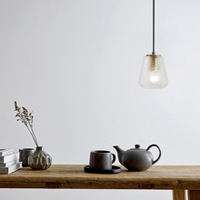 купить Modern Industrial LED Glass Pendant Lights Lighting Nordic Loft Cafe Restaurant Indoor Decor Hanging Lamp Bedroom Light Fixtures по цене 6200.49 рублей