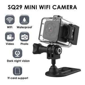 Image 1 - Camera Thể Thao SQ29 Mini Camera IP Quan Sát Ban Đêm Mini Chống Nước Chuyển Động Đầu Ghi Hình Micro Camera Thể Thao DV W/Chống Nước Vỏ VS SQ11