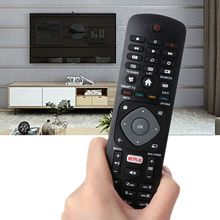 Black Black Remote Control Controller Replacement for Philips NETFLIX Smart